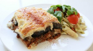 Hot and wholesome moussaka