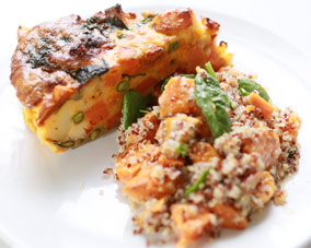 Tried and true vegetable frittata